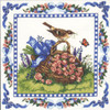 Spring Robin Counted Cross Stitch Kit Candamar