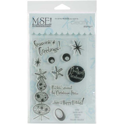 Rockin' Around Christmas Collection Clear Plastic Stamp MSE