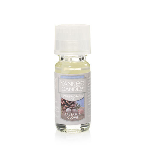 Balsam and Clove Home Fragrance Oil Yankee Candle 0.3oz