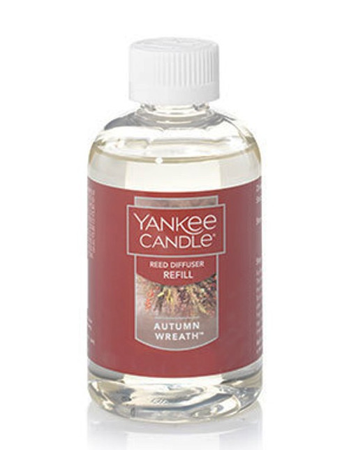 Autumn Wreath Reed Diffuser Oil Refill Yankee Candle 4oz