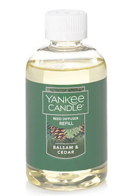 Balsam & Cedar Reed Diffuser Oil Refill Yankee Candle 4oz