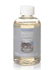 Balsam & Clove Reed Diffuser Oil Refill Yankee Candle 0.3oz