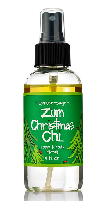 Christmas Chi Spruce-Sage Zum Mist Room Body Spray Indigo Wild 4oz