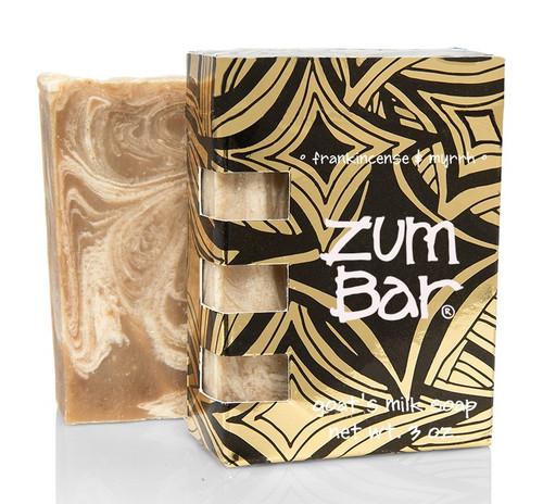 Frankincense Myrrh Zum All Natural Bar Soap Indigo Wild 3oz