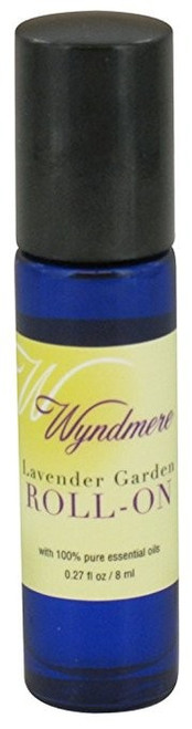 Lavender Garden Roll On Aromatherapy Oil Wyndmere Naturals 0.27oz