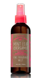 Mint Leaf Bergamot Fine Fragrance Mist Bath and Body Works 6oz