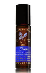 Sleep Lavender Cedarwood Aromatherapy Essential Oil Roller Ball Bath and Body Works 0.27oz
