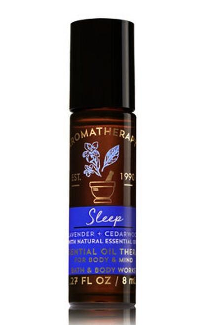 Sleep Lavender Cedarwood Aromatherapy Essential Oil Roller Ball Bath and Body Works 0.27oz