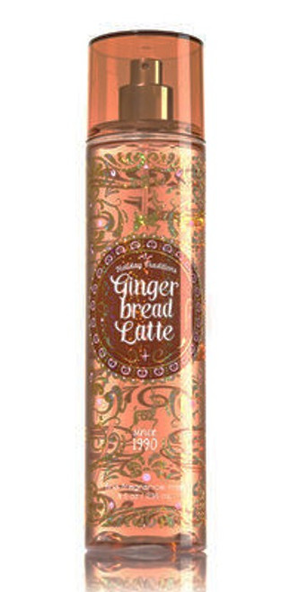Gingerbread Latte Fine Fragrance Mist Bath and Body Works 8oz