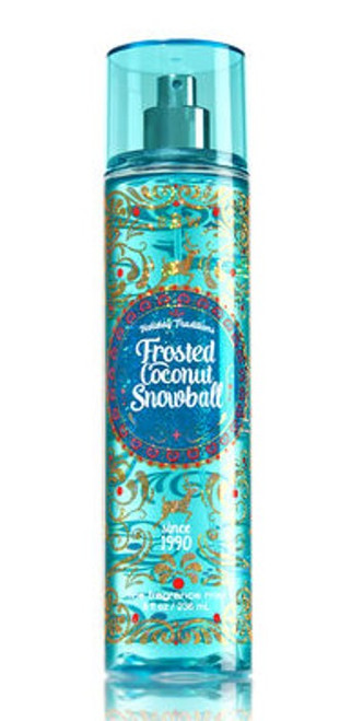 Frosted Coconut Snowball Fine Fragrance Mist Bath and Body Works 8oz