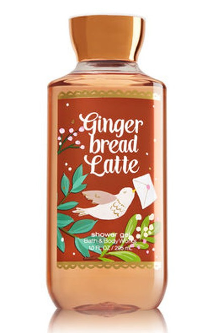 Gingerbread Latte Shower Gel Bath and Body Works 10oz