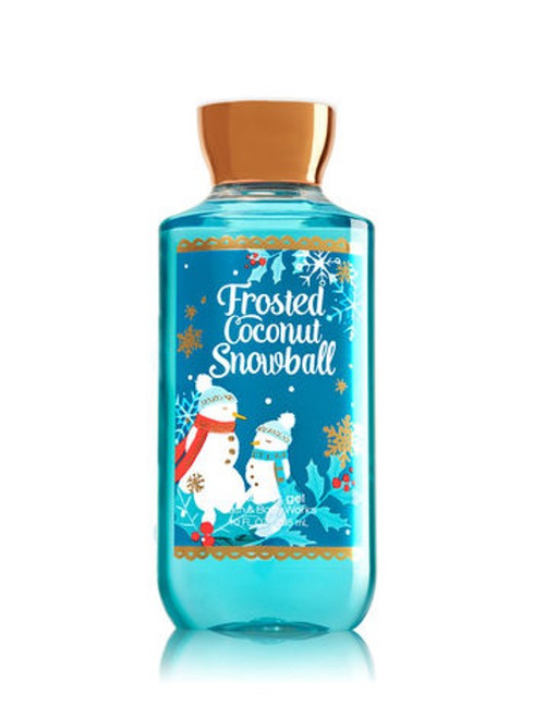 Frosted Coconut Snowball Shower Gel Bath and Body Works 10oz