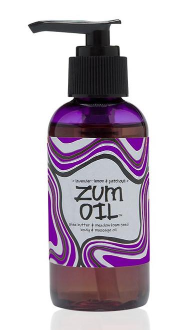 Lavender Lemon Patchouli Zum Massage Oil Indigo Wild 4oz