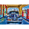 Kicks on Route 66 Wheels 750 piece Jigsaw Puzzle Linda Berman