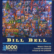 Where I Show Up 1000 piece Jigsaw Puzzle Bill Bell