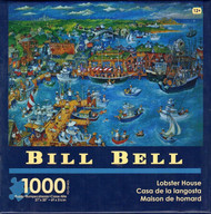 Lobster House 1000 piece Jigsaw Puzzle Bill Bell