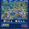 Victorian Zoo 1000 piece Jigsaw Puzzle Bill Bell