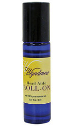 Head Aide Roll On Aromatherapy Oil Wyndmere Naturals 0.27oz