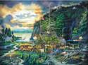 Moonlight & Roses 1000 Piece Jigsaw Puzzle Charles Wysocki