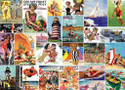 Beach Time Collage 1000 Piece Jigsaw Puzzle
