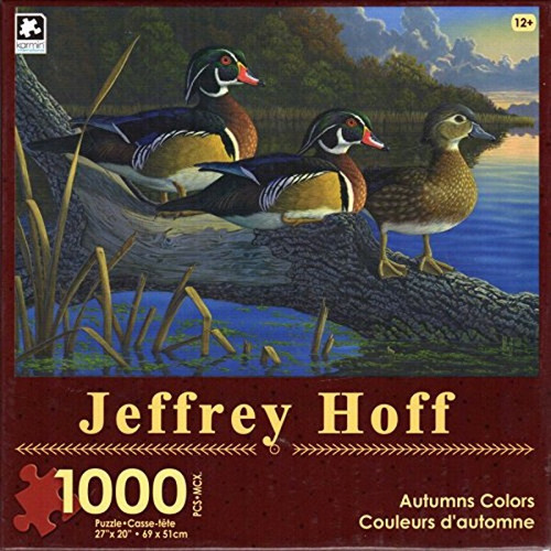Autumns Color 1000 Piece Jigsaw Puzzle Jeffrey Hoff
