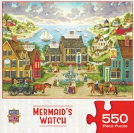 Mermaid Watch 550 Piece Jigsaw Puzzle Bonnie White