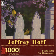 Goldfinch Trio 1000 Piece Jigsaw Puzzle Jeffrey Hoff