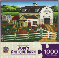 Jodi's Antique Barn 1000 Piece Jigsaw Puzzle Art Poulin