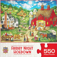 Friday Night Hoedown 550 Piece Jigsaw Puzzle Bonnie White