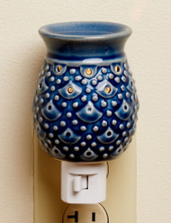 Blue Pineapple Ceramic Plug In Oil Warmer Earthbound Trading
