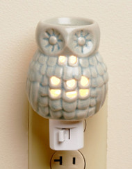 Owl Ceramic Plug In Oil Warmer Earthbound Trading