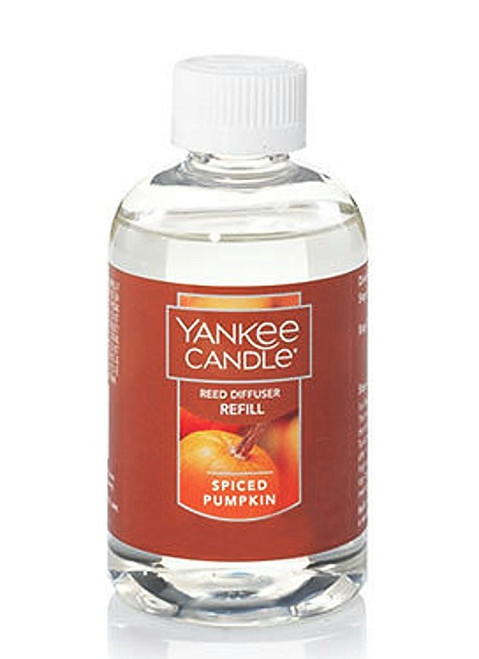 Spiced Pumpkin Reed Diffuser Oil Refill Yankee Candle 4oz