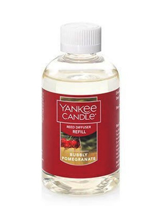 Bubbly Pomegranate Reed Diffuser Oil Refill Yankee Candle 4oz