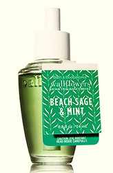 Beach Sage & Mint Wallflower Fragrance Refill Bulb Bath and Body Works 0.8oz