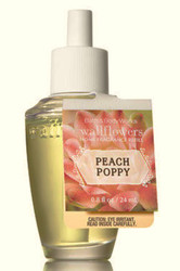 Peach Poppy Wallflower Fragrance Bulb Bath and Body Works 0.8oz