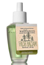 Fresh Balsam Wallflower Fragrance Bulb Bath and Body Works 0.8oz