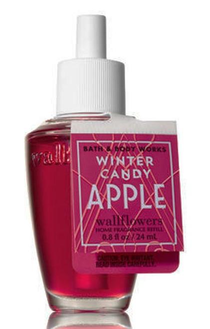 Winter Candy Apple Wallflower Fragrance Refill Bulb Bath and Body Works 0.8oz