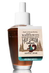 Hot Cocoa & Cream Wallflower Fragrance Bulb Bath and Body Works 0.8oz