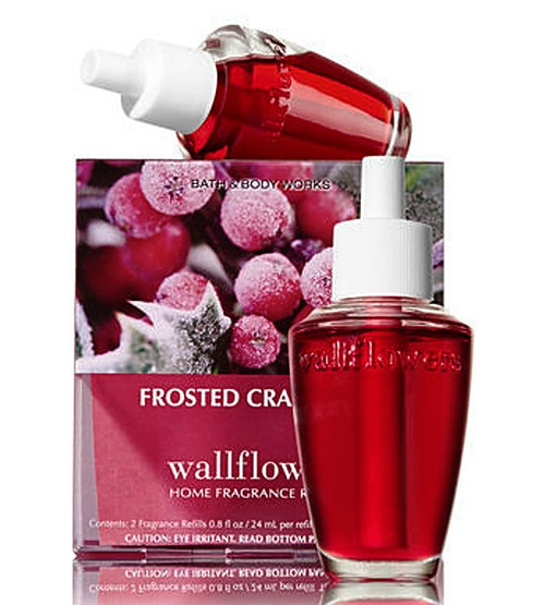 Frosted Cranberry Wallflower Fragrance Refill Bulb 2-Pack Bath and Body Works