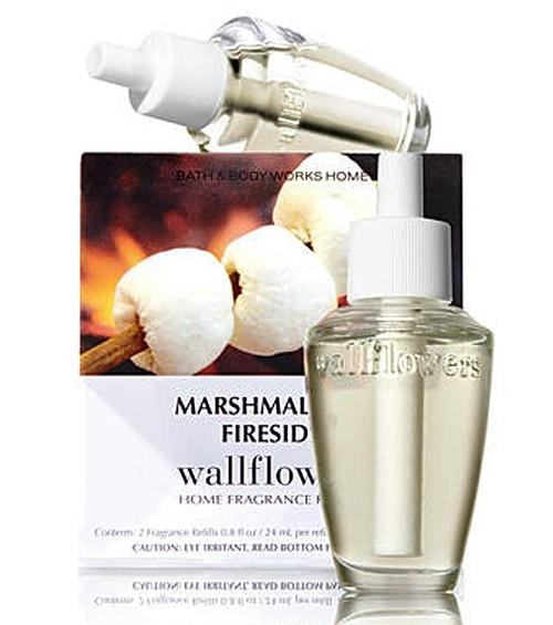 Marshmallow Fireside Wallflower Fragrance Refill Bulb 2-Pack Bath and Body Works