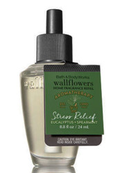 Eucalyptus Spearmint Wallflower Fragrance Bulb Refill Bath and Body Works 0.8oz