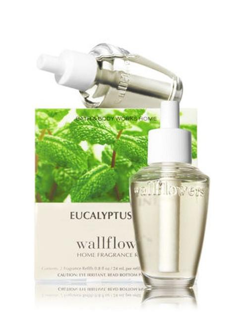 Eucalyptus Mint Wallflower Fragrance Refill Bulb 2-Pack Bath and Body Works 0.8oz