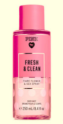Fresh and Clean PINK Body Mist Victoria's Secret 8.4oz