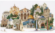 Jerusalem On Linen Counted Cross Stitch Kit Thea Gouverneur