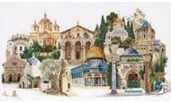 Jerusalem On Linen Counted Cross Stitch Kit Thea Gouverneur