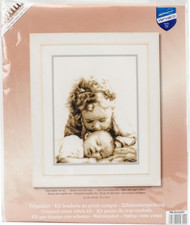 Little Angel of Mine Counted Cross Stitch Kit Vervaco