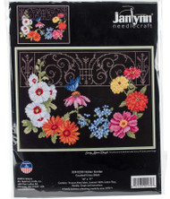 Hidden Garden Counted Cross Stitch Kit Janlynn