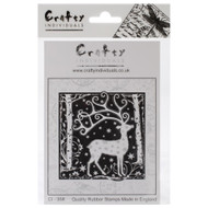 Magical Reindeer Rubber Cling Stamp Crafty Individuals