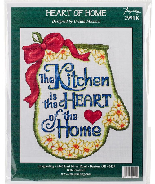 Heart of the Home Counted Cross Stitch Kit Imaginating