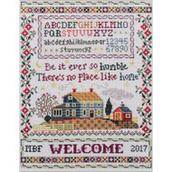 Humble Home Sampler Counted Cross Stitch Kit Imaginating
